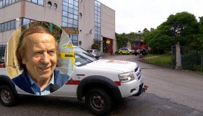 Gian Franco Terenzi investito e ucciso davanti alla sua azienda