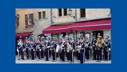 Radio San Marino - #IOSTOCONGLIARTISTI: la Banda Militare di San Marino