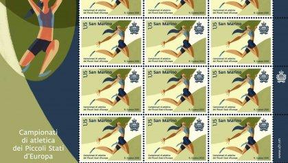 """UFN: emissione postale dedicata ai """"Campionati di atletica dei Piccoli Stati d'Europa"""""""