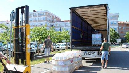 Esteri: Lettonia dona prodotti per la disinfezione di oggetti e superfici