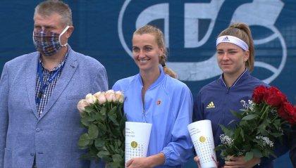 """Rep.Ceca: Kvitova e Vrbensky trionfano nella """"President's Cup"""" di Praga"""