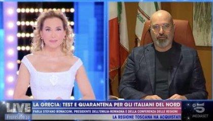 """Turismo, Bonaccini: """"I greci facciano come credono. Da noi sono i benvenuti"""""""