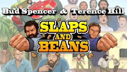 """Spencer & Terence Hill in """"Slaps And Beans"""""""