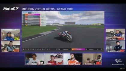 MotoGP virtuale, buona la prima per Lorenzo