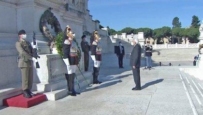 """Festa del 2 giugno, il presidente Mattarella a Codogno: """"Da qui riparte l'Italia del coraggio e della Costituzione"""""""