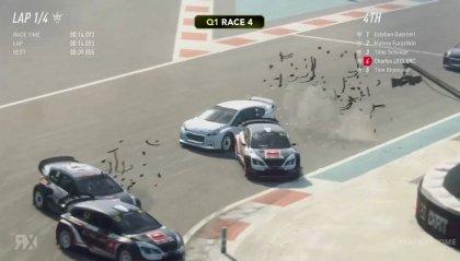 Rallycross virtuale, van Gisbergen vince ad Abu Dhabi