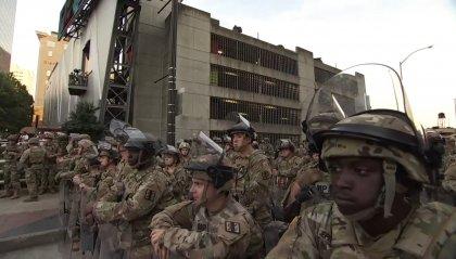 Soldati a difesa della Casa Bianca: scontro Trump-Pentagono