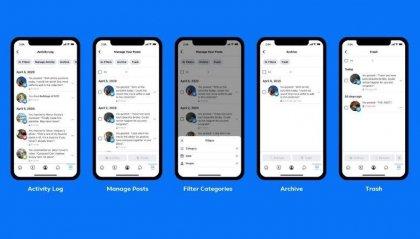 Facebook: cancellare il passato adesso è possibile