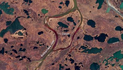 Nel fiume tonnellate di diesel nella Giornata mondiale dell'Ambiente