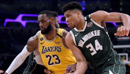 La  NBA riparte il 31 luglio con 22 squadre anzichè 30