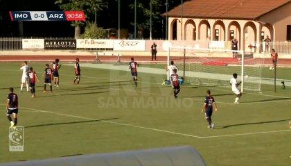 L'Imolese di Roberto Cevoli è salva: basta lo 0-0 con l'Arzignano