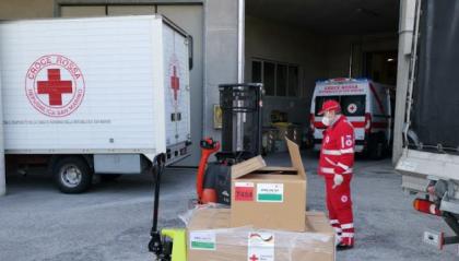 Coronavirus, l'operato della Croce Rossa di San Marino