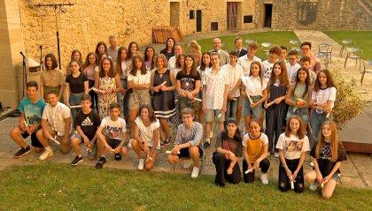 Scuola: la consegna dei diplomi di Medie e Superiori alla Cava dei Balestrieri