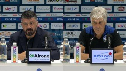 """Gattuso dopo la sconfitta contro l'Atalanta striglia i suoi: """"Troppe lamentele con gli arbitri e basta scampagnate"""""""