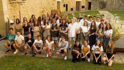 Alla Cava dei Balestrieri la consegna dei diplomi alle scuole medie e superiori