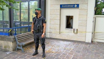 Faetano: esplosione nella notte al bancomat BSM; ingenti i danni alla filiale