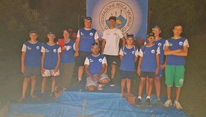 Pesca, sono cominciati i campionati sammarinesi giovanili
