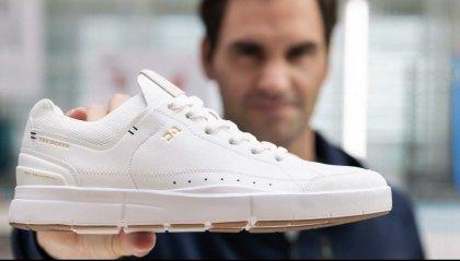 Roger Federer presenta la sua prima linea di sneaker