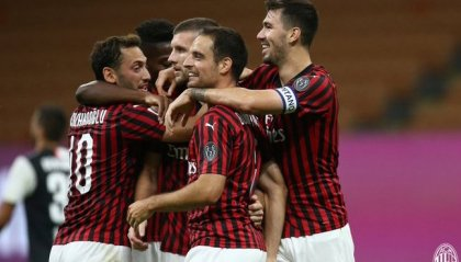 Il Milan ribalta la Juve, vince 4-2 e ora vede l'Europa