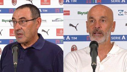 """Sarri: """"Bisogna dimenticare il blackout col Milan e pensare subito alla prossima partita"""""""