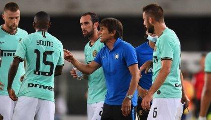 L'Inter frena al Bentegodi, col Verona finisce 2-2