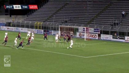 Serie C: França al 94° il Potenza vola ai quarti contro la Reggiana