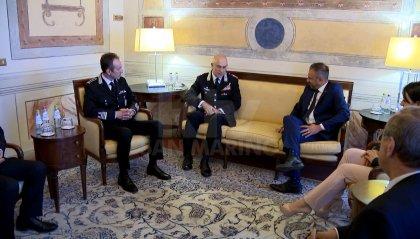 Cooperazione e rapporti bilaterali: a San Marino la visita del comandante generale dell'Arma dei carabinieri