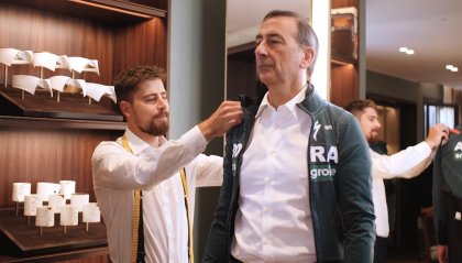 Il Giro fashion di Sagan e Sala