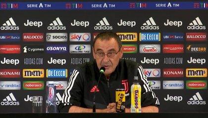 """Juventus-Atalanta, Sarri: """"Giocare con l'Atalanta è come andare dal dentista, citando Guardiola"""""""