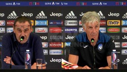 Juventus-Atalanta 2-2, le parole di Sarri e Gasperini