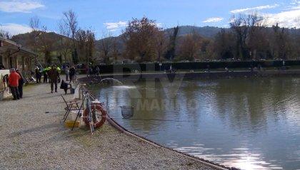 Pesca sportiva, weekend di gare al lago di Faetano