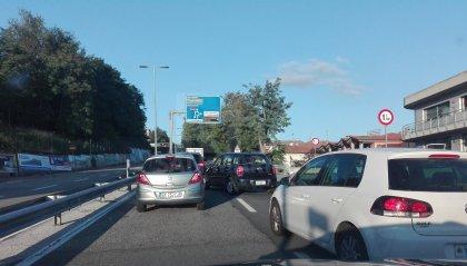 Serravalle: rallentamenti per lavori di asfaltatura