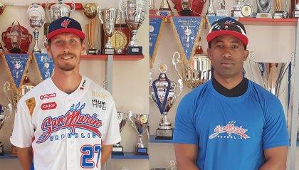 Baseball: Solbach e Caseres al San Marino