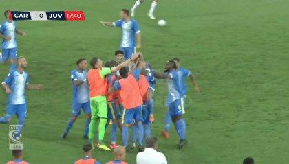 Carrarese - Juventus U23 2-2, ai bianconeri non basta la rimonta