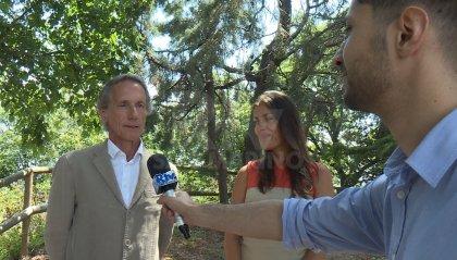 Oggi a San Marino due nomi noti dell'organizzazione eventi per stranieri in Italia: Paolo Nassi e Jinane Kafrouny