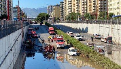 Maltempo a Palermo: continuano le ricerche dei due presunti dispersi