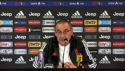 """Sarri: """"Impossibile preparare contro la Roma la partita con il Lione"""""""