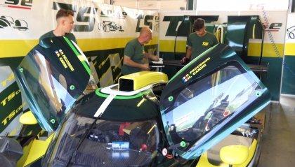 A Misano i primi test del prototipo Norma LMP3