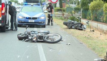 Rimini: grave incidente sulla Statale Adriatica; coinvolte un'auto e due moto
