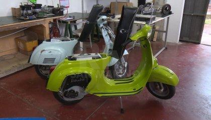 Un kit per convertire la Vespa in motorino elettrico: ecco l'idea di giovani riminesi rimasta bloccata