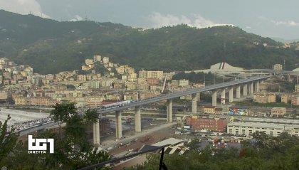 """Ponte Genova San Giorgio, Conte: """"Mirabile frutto del genio italico"""""""
