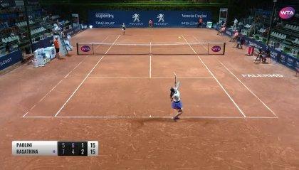 Il tennis femminile è ripartito da Palermo