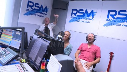 I musicisti Kelly Joyce e Filippo Tirincanti ospiti di Radio San Marino