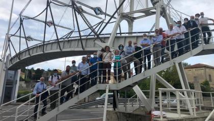 Università: esercitazione al ponte di Dogana sulla sicurezza degli immobili