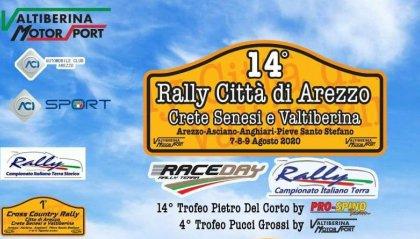 La Scuderia San Marino è pronta a tornare sulla terra al 14° Rally città di Arezzo Creti Senesi e Valtiberina