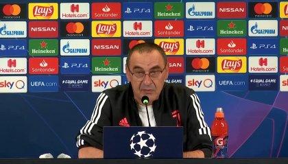 """Juventus, ultima chiamata per Lisbona. Sarri: """"Lione squadra evoluta"""""""