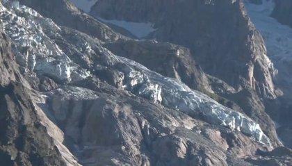Allerta ghiacciaio: preoccupa rialzo termico, a rischio volume pari a Duomo Milano