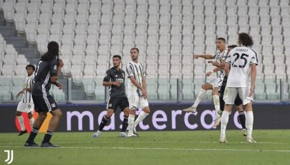 Non basta la vittoria 2-1, Juventus eliminata dal Lione
