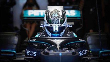 F1, sempre Mercedes a Silverstone: Bottas in pole su Hamilton