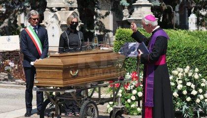 Sergio Zavoli riposa accanto a Federico Fellini. In mattinata l'omaggio del segretario Lonfernini